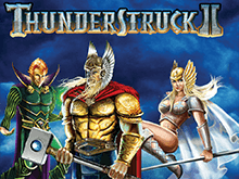 Крупный выигрыш в тематическом игровом автомате Thunderstruck II