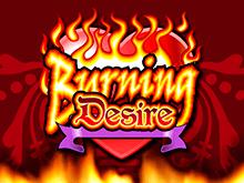 Популярная игра вызывающая большой азарт Burning Desire